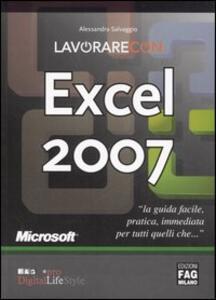 Lavorare con Excel 2007