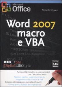 Word 2007. Macro e VBA