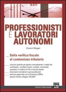 Professionisti e lavoratori autonomi
