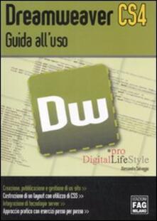 Dreamweaver CS4. Guida all'uso - Alessandra Salvaggio - copertina