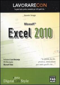 Lavorare con Microsoft Excel 2010