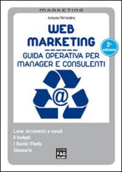 Web marketing - Antonio Ferrandina - copertina