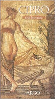 Cipro nella letteratura (prosa e poesia) - copertina