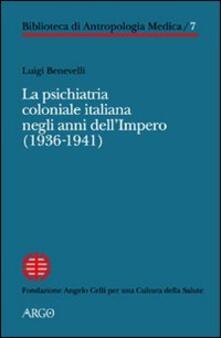 Winniearcher.com La psichiatria coloniale italiana negli anni dell'Impero (1936-1941) Image