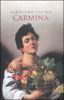Carmina - Girolamo Cicala - copertina