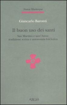 Writersfactory.it Il buon uso dei santi. San Martino e sant'Anna: tradizione scritta e autonomia folclorica Image