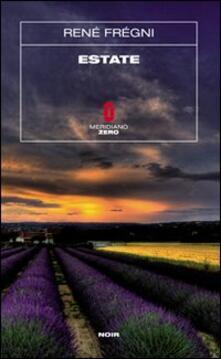 Estate - René Frégni - copertina