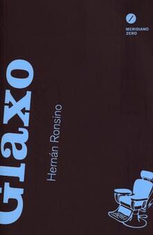 Glaxo - Hernán Ronsino - copertina