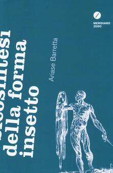 Psicosintesi della forma insetto - Ariase Barretta - copertina
