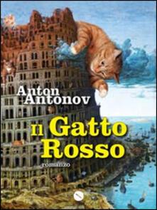 Il gatto rosso - Anton Antonov - copertina