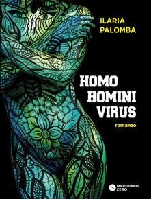 Homo homini virus - Ilaria Palomba - copertina