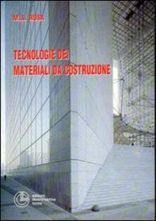 Tecnologie dei materiali da costruzione