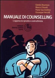 Manuale di counselling. L'approccio ipnotico costruttivista - copertina