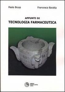 Appunti di tecnologia farmaceutica