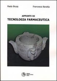 Camfeed.it Appunti di tecnologia farmaceutica Image