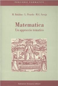 Matematica. Un approccio tematico