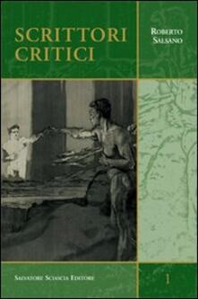 Scrittori critici - Roberto Salsano - copertina