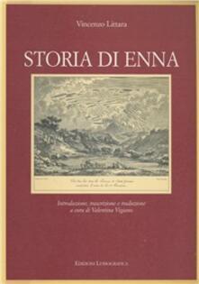 Storia di Enna - Vincenzo Littara - copertina