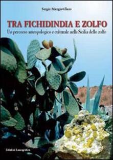 Tra fichidindia e zolfo. Un percorso antropologico e culturale nella Sicilia dello zolfo - Sergio Mangiavillano - copertina