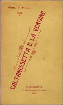 Caltanissetta e la vergine - Francesco Pulci - copertina