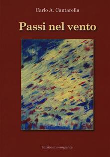 Passi nel vento - Carlo A. Cantarella - copertina
