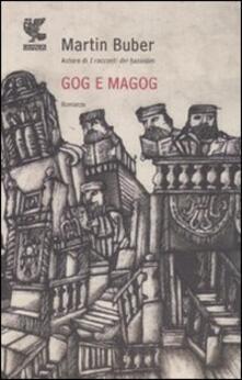 Gog e Magog - Martin Buber - copertina