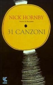 31 canzoni - Nick Hornby - copertina