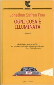 Ogni cosa è illuminata - Jonathan Safran Foer - copertina