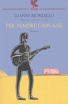 Per sempre giovane - Gianni Biondillo - copertina