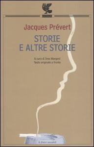 Storie e altre storie. Testo francese a fronte