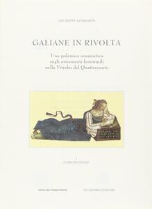 Galiane in rivolta. Una polemica umanistica sugli ornamenti delle donne nella Viterbo del Quattrocento