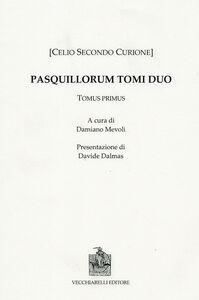 Pasquillorum. Vol. 1