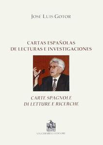 Cartas espanolas de lecturas e investigaciones. Ediz. italiana e spagnola