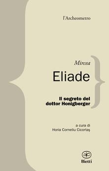 Il segreto del dottor Honigberger - Mircea Eliade - copertina
