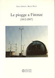 Le pioggie a Firenze (1812-2007)