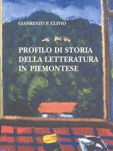 Profilo di storia della letteratura piemontese