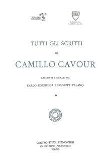 Filippodegasperi.it Tutti gli scritti di Camillo Cavour Image