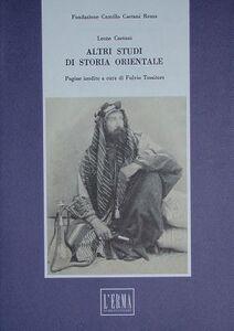 Altri studi di storia orientale
