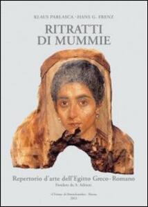 Repertorio d'arte dell'Egitto greco-romano. Pittura. Ritratti di mummie. Serie B. Vol. 4