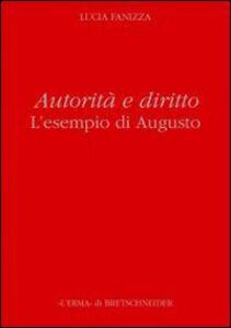 Autorità e diritto. L'esempio di Augusto