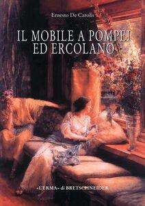 Il mobile a Pompei ed Ercolano. Letti, tavoli, sedie e armadi. Contributo alla tipologia dei mobili della prima età imperiale