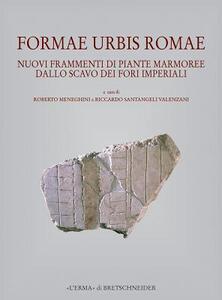 Formae urbis Romae. Nuovi frammenti di piante marmoree dallo scavo dei Fori Imperiali