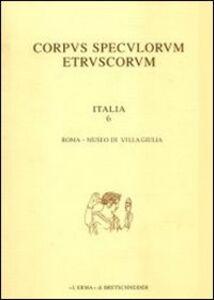 Corpus speculorum etruscorum. Italia. Vol. 6\1