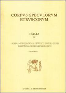 Corpus speculorum etruscorum. Italia. Vol. 6\2