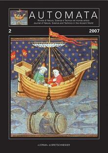 Automata. Rivista di natura, scienza, e tecnica del mondo antico (2007). Ediz. italiana e inglese. Vol. 2.pdf