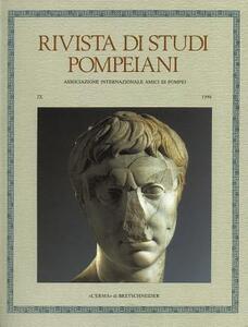 Rivista di studi pompeiani (1998). Vol. 9