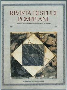 Aboutschuster.de Rivista di studi pompeiani (1997). Vol. 8 Image