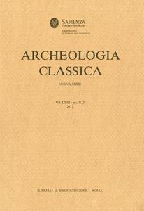 Archeologia classica (2012). Vol. 63