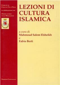 Lezioni di cultura islamica