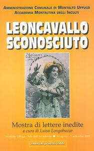 Leoncavallo sconosciuto. Mostra di lettere inedite